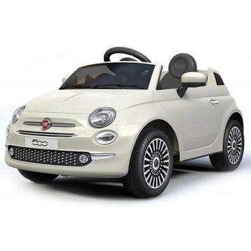 Auto Elettrica FIAT 500 New bianca