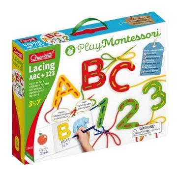 Lacing ABC 123 Alfabeto e Numeri