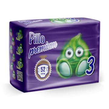 Pannolini Pillo premium 3 midi x52
