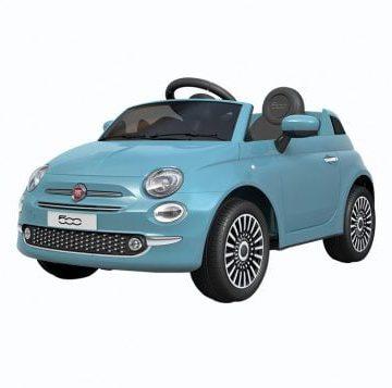 Auto Elettrica FIAT 500 NEW Azzurra