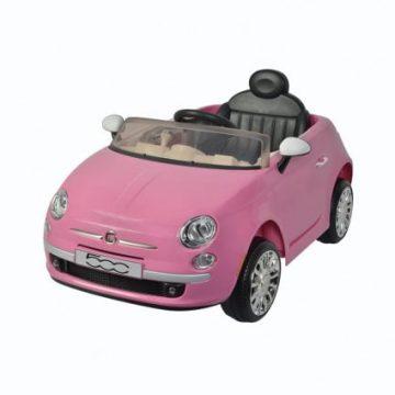 Auto Elettrica FIAT 500 NEW Rosa