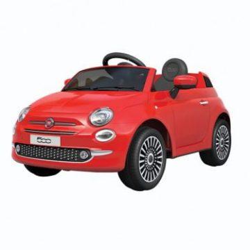 Auto Elettrica FIAT 500 NEW Rossa