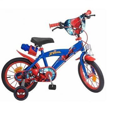Bicicletta Spiderman Misura 14 (4 - 6 ANNI)