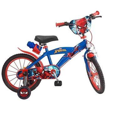 Bicicletta Spiderman Misura 16
