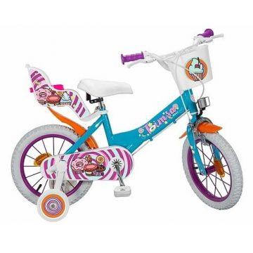 Bicicletta Sweet Fantasy Misura 14 (4 – 6 Anni)
