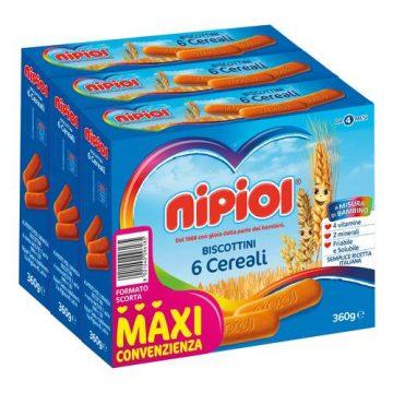 Biscotto nipiol 3x360g