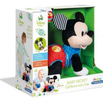 Clementoni Disney Baby Mickey Gattona con me
