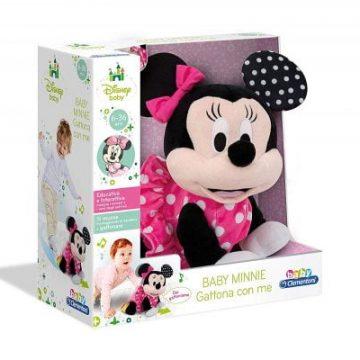 Clementoni- Disney Baby Minnie Gattona con me