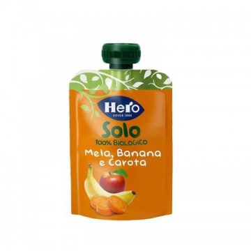 Hero Mela Banana e Carota Biologiche