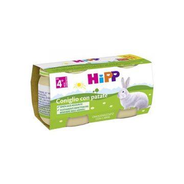 Hipp coniglio con patate 2x80g