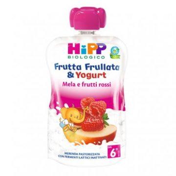 Hipp frutta frullata mela banana e fragola