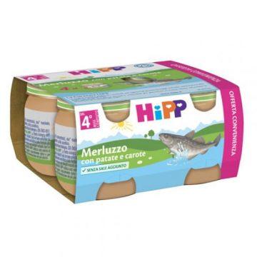Hipp merluzzo con patate 4x80g