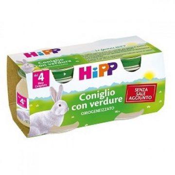 Hipp omo coniglio e verdure 2x80g