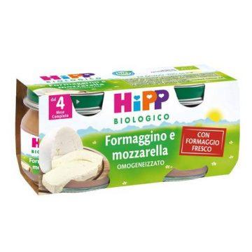 Hipp omo formaggino e mozzarella 2x80g