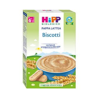 Hipp pappalattea biscotto 250g