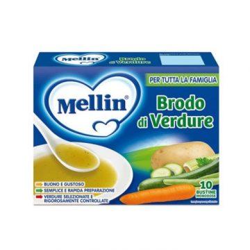 Mellin brodo di verdure 10x8g