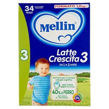 Mellin latte crescita 3 2x600g