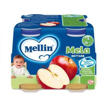 Mellin nettare mela 4x125ml