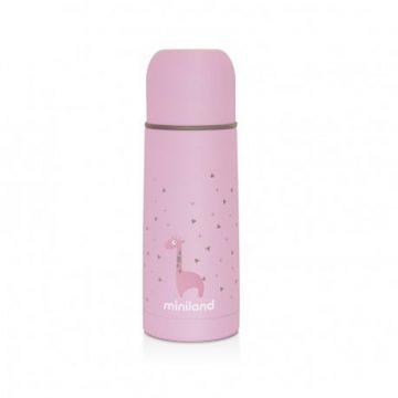 Miniland Thermos per liquidi da 500ml Rosa