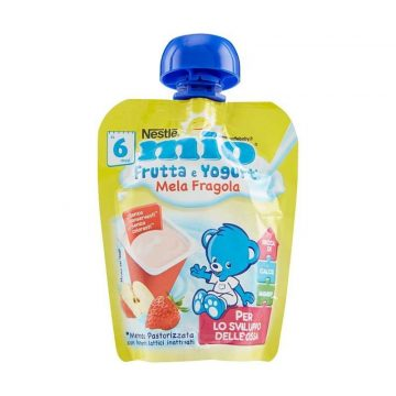 Mio Yogurt Mela Fragola 90g