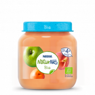 Nestlé bio mela pesca albicocca 125g
