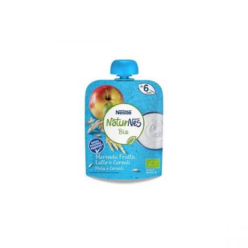 Nestlé bio pouch mela cereali 90g