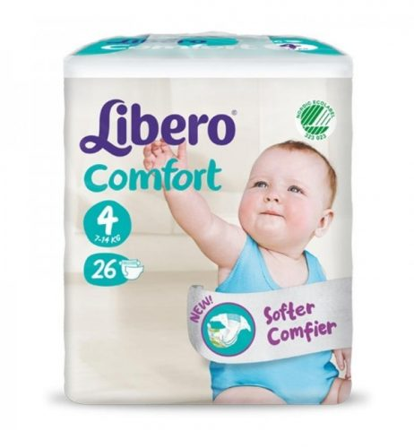 pannolini libero confort 4