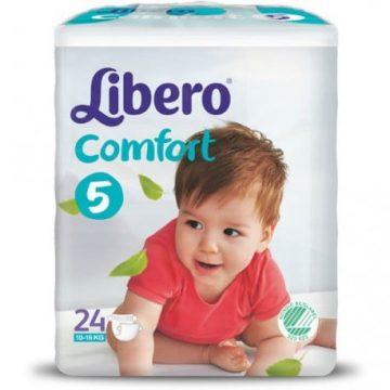 Pannolini Libero confort 5