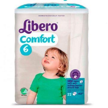 Pannolini Libero confort 6
