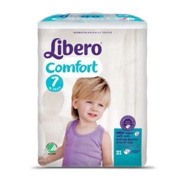 Pannolini Libero confort 7