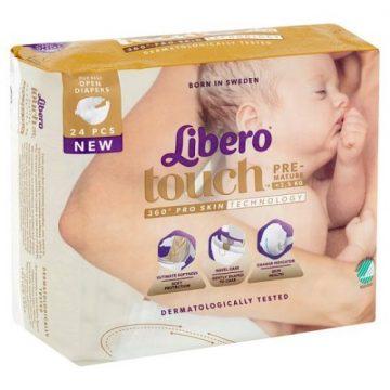 Pannolini Libero touch pre