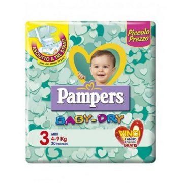 Pampers BabyDry Misura 3