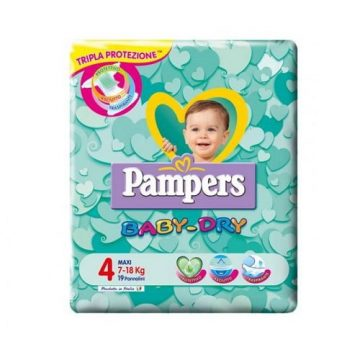 Pampers BabyDry Misura 4