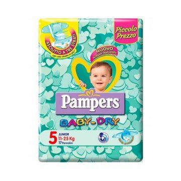 Pampers BabyDry Misura 5