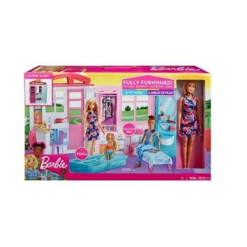 Playset Loft Di Barbie Con Bambola 30cm