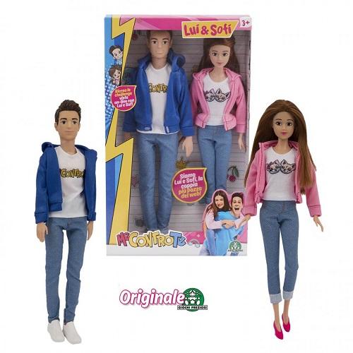 me contro te fashion doll coppia 30cm