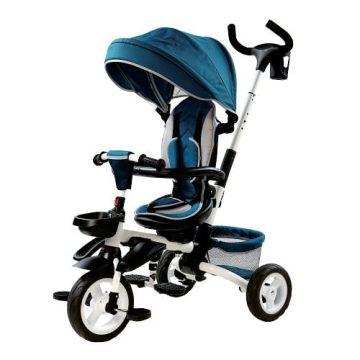 Triciclo Pieghevole Azzurro 4in1