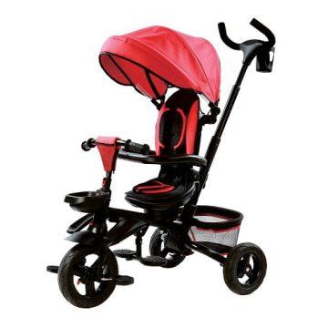 Triciclo Pieghevole Rosso 4in1