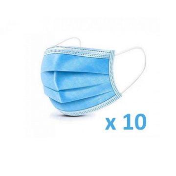Mascherina chirurgica 10pz