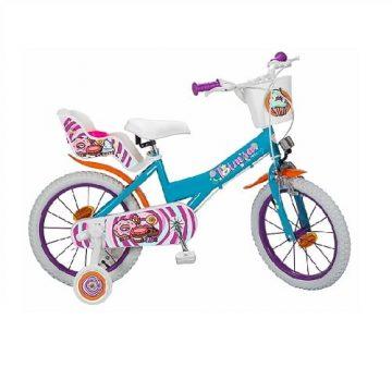Bicicletta Sweet Fantasy Misura 16
