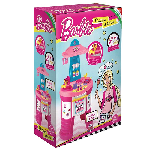 cucina barbie 107cm