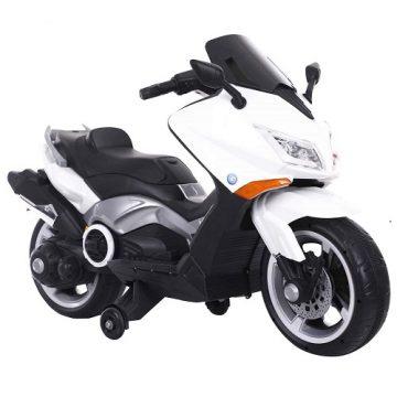 Moto Elettrica Tmax 12V Bianca