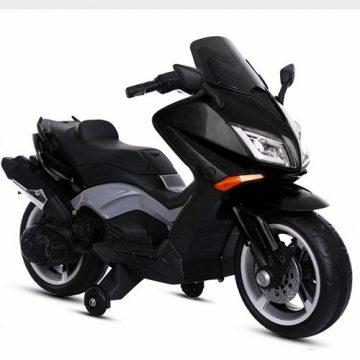 Moto Elettrica Bambini Tmax 12V Nero