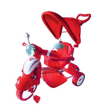 Colibrì Triciclo Vespino Hornet Rosso 2in1
